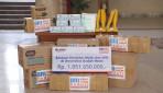 BRI Serahkan Bantuan Perlengkapan Medis dan APD kepada UGM