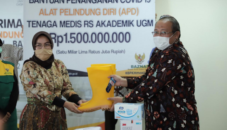 RSA UGM Terima Bantuan APD Senilai 1,5 Miliar