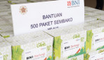 BNI Serahkan Bantuan 500 Paket Sembako kepada UGM