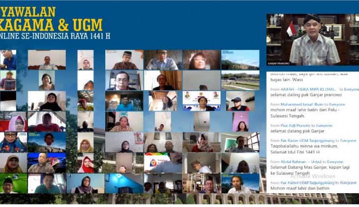 KAGAMA Se-Indonesia Gelar Syawalan Daring