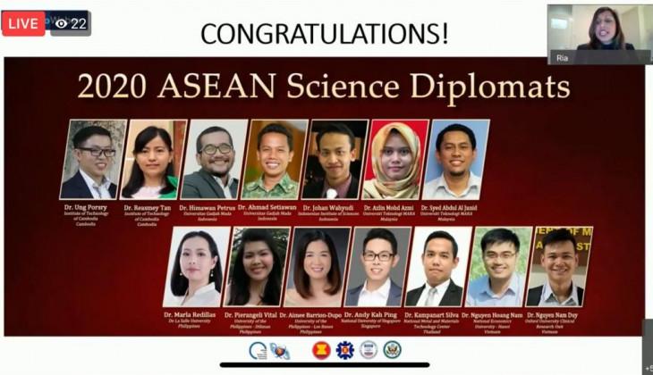 Dua Dosen UGM Terpilih Sebagai ASEAN Science Diplomat 2020