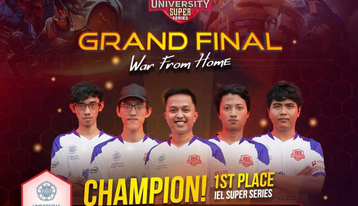 Tim UGM Raih Juara I Indonesia Esports League University Super Series