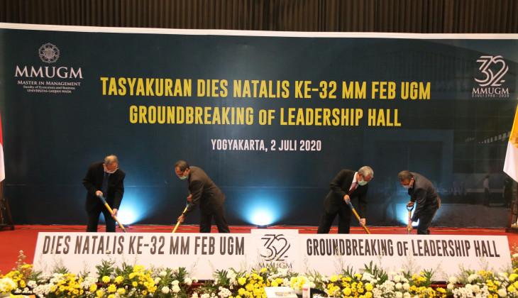 Dies ke-32, MM FEB UGM Bangun Gedung Leadership Hall