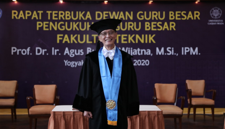 ProfAgus Budhie Wijatna Dikukuhkan jadi Guru Besar