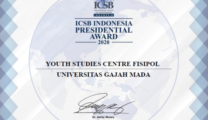 UGM YouSure Wins 2020 ICSB Presidential Award