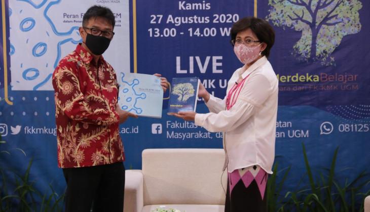 FK-KMK Luncurkan Buku Merdeka Belajar dan Perannya di Tengah Pandemi Covid-19