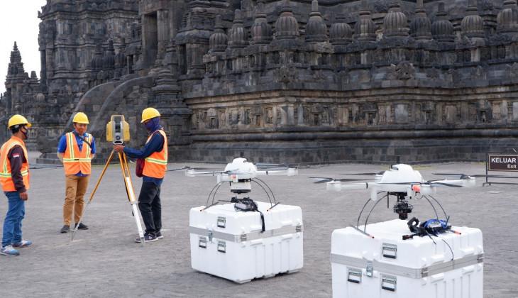 SV UGM Buat Dokumentasi Digital 3D Candi Prambanan