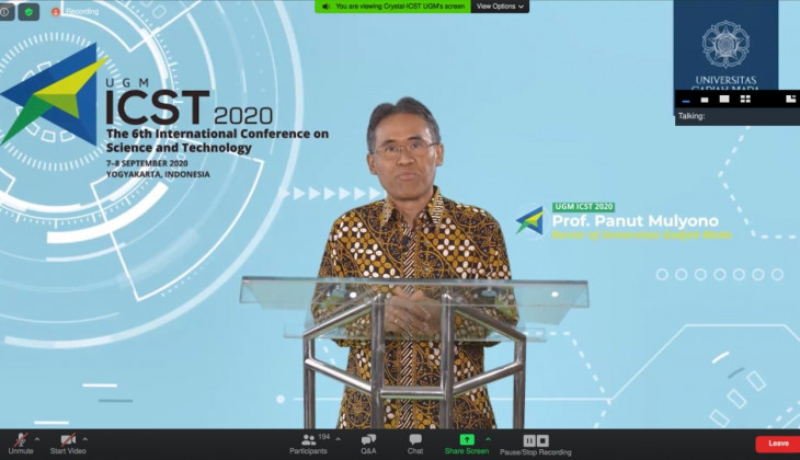 BPP UGM Gelar ICST 2020