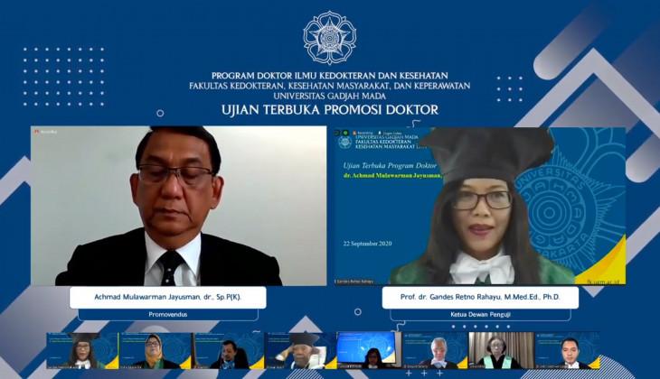 Mahasiswa Doktoral FK-KMK UGM Teliti Petanda Prognostik Kanker Paru
