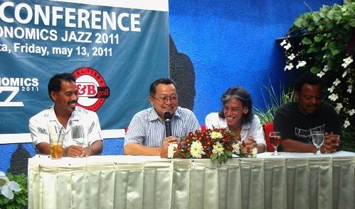 Musisi Jazz Internasional Ramaikan 'BNI-Economis Jazz' FEB UGM