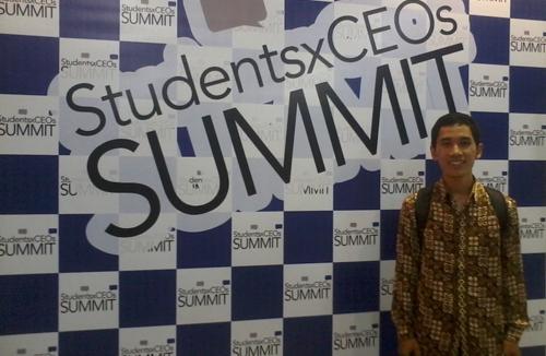 Reza Terpilih Menjadi 100 Young CEOs Indonesia