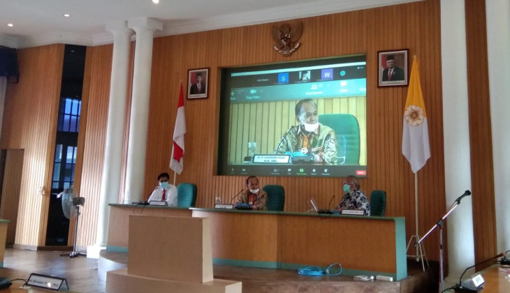 MPR Listens to UGM's Aspirations about Discourse to Revive GBHN