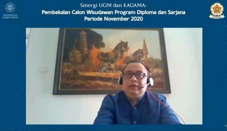 Sekjen KAGAMA Ingatkan Calon Wisudawan Jaga Integritas dan Nilai-Nilai UGM
