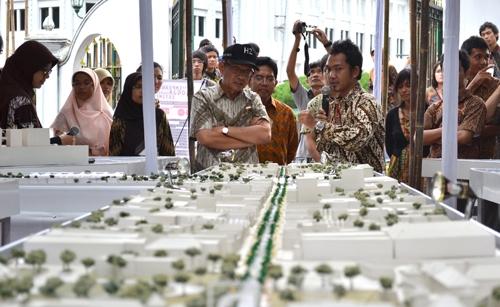 Mahasiswa UGM Pamerkan Desain Kawasan Heritage Track Yogyakarta
