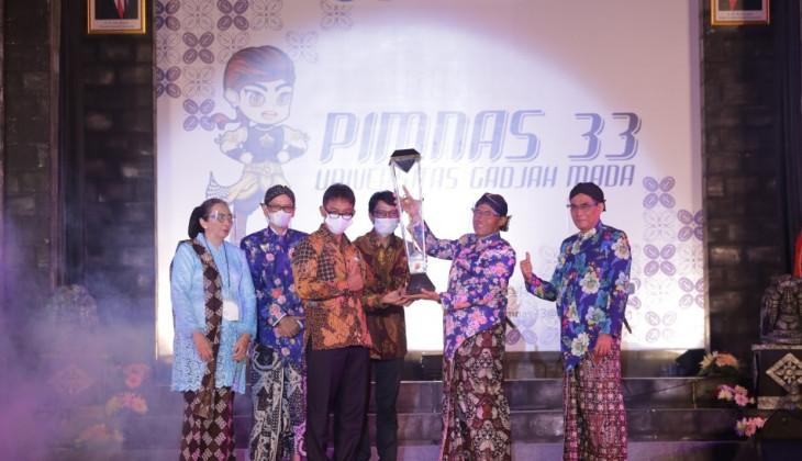 UGM Pertahankan Gelar Juara Umum PIMNAS ke-33