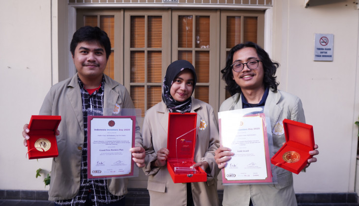 Mahasiswa UGM Juara Kompetisi Indonesia Inventors Day