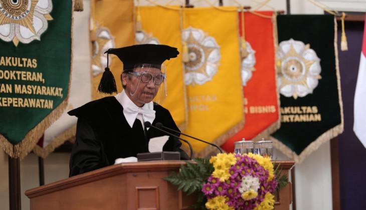 Prof Agus Supartoto Dikukuhkan Jadi Guru Besar