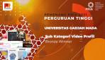 Website UGM Raih Gold Winner PR Indonesia Awards 2021