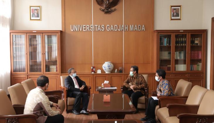 Rektor UGM Terima Kunjungan Dubes India