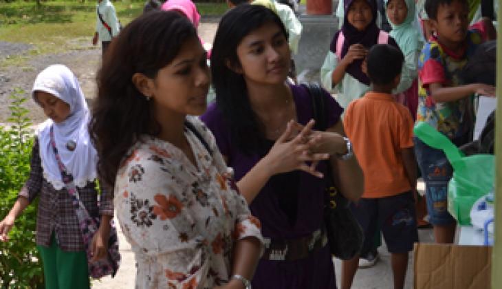 Finalis Miss Indonesia Aksi Peduli Chikungunya