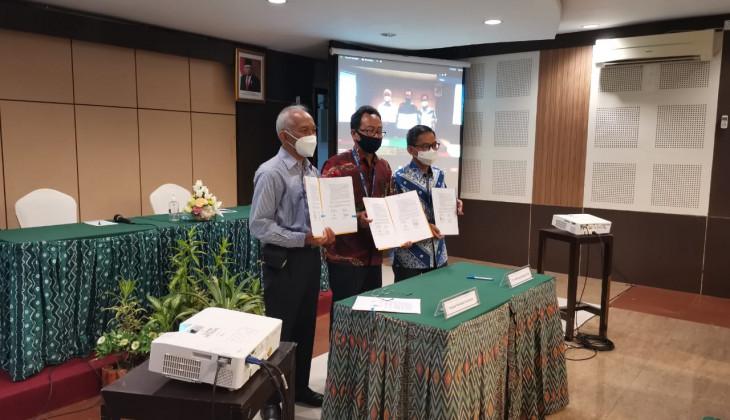 Penandatangan Kontrak Pembangunan Gedung P3I UGM