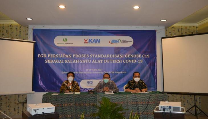 BSN dan Tim GeNose Tengah Menyusun SNI untuk GeNose C19