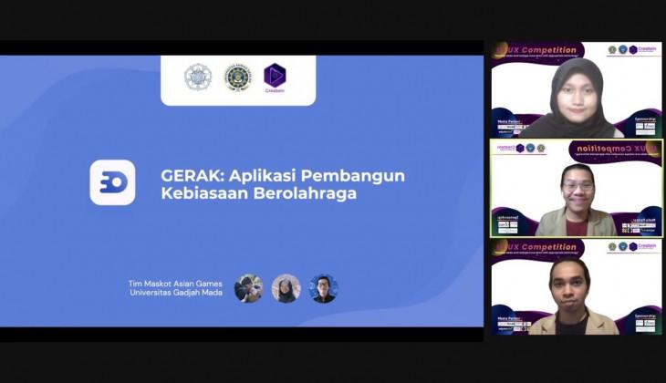 Tim Maskot Asian Games Raih Juara 1 UIUX Competition CREATE-IN 2021