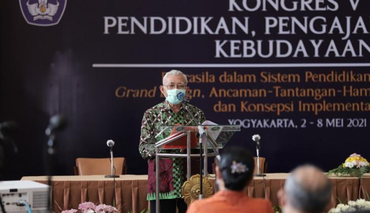 Kongres V PPK Hasilkan Rekomendasi Pancasila dalam Sisdiknas