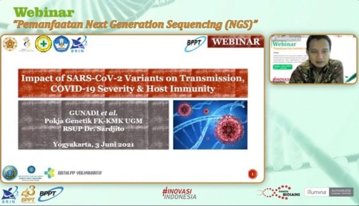 Paparan Pakar Genetika UGM tentang Dampak Varian Baru Covid-19