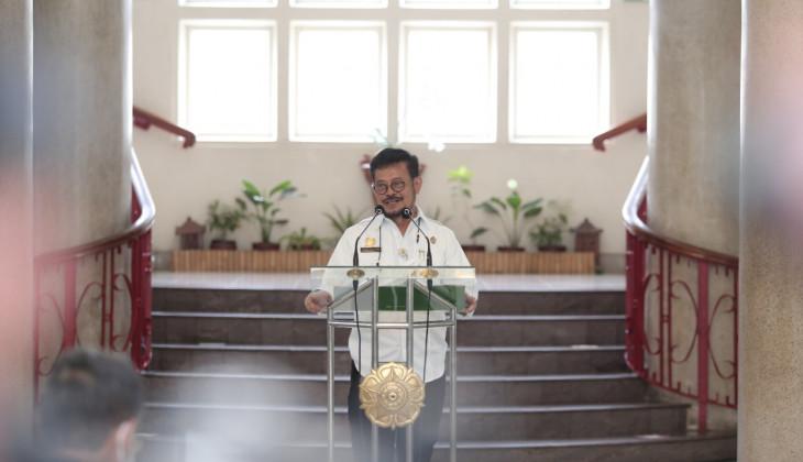 Menteri Pertanian Minta UGM Dukung Pengembangan Pertanian dengan Riset