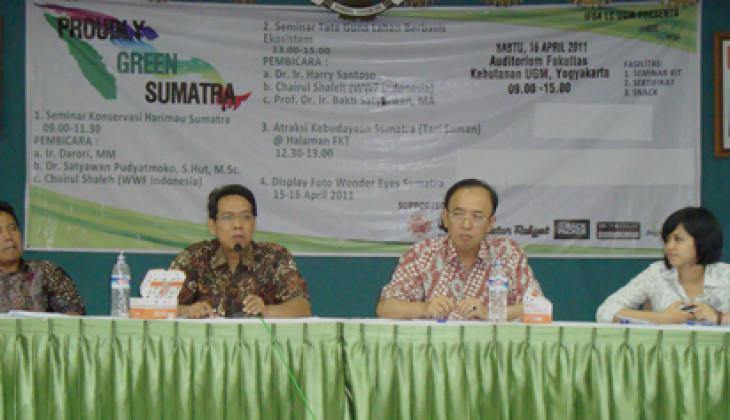 Tinggal 7 Persen, Harimau Sumatera Terancam Punah