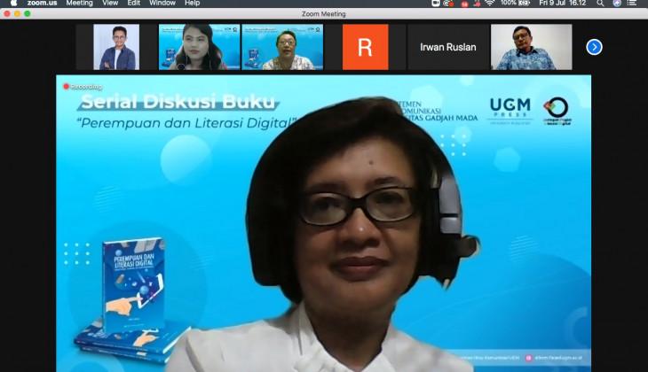 Dikom UGM Diskusikan Buku Perempuan dan Literasi Digital
