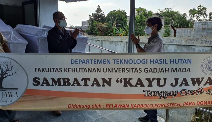 Departemen Teknologi Hasil Hutan Bantu Produksi Peti Jenazah Covid-19