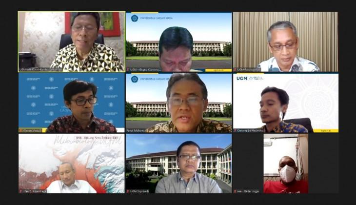 UGM Tegaskan Komitmen dalam Kontribusi Penanganan Pandemi Covid-19