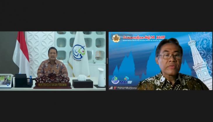 Menteri Kelautan Dorong Akademisi Kembangkan Inovasi Kelautan dan Perikanan