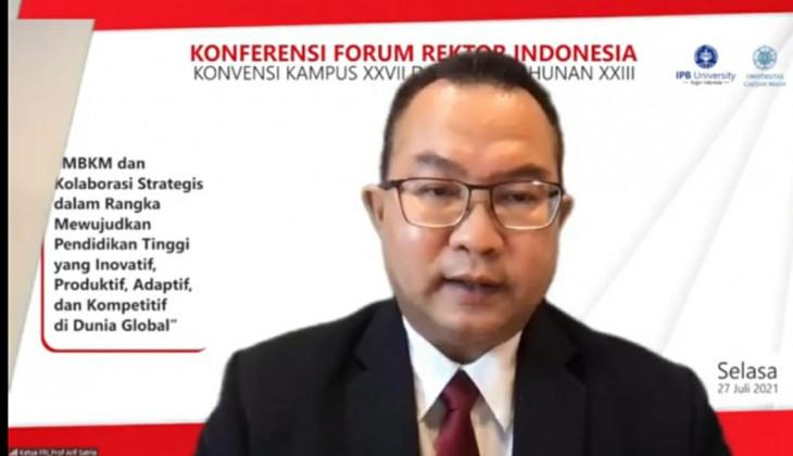 Forum Rektor Indonesia Sampaikan Lima Rekomendasi Terkait MBKM