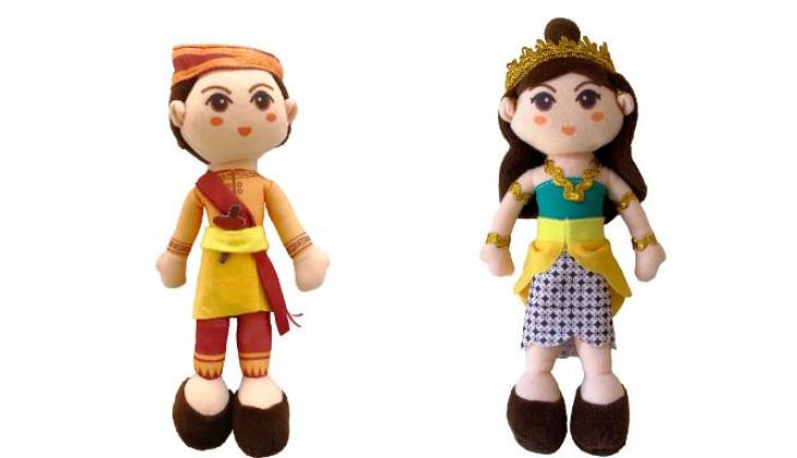 Mahasiswa UGM Bikin Boneka Tokoh Dongeng Nusantara