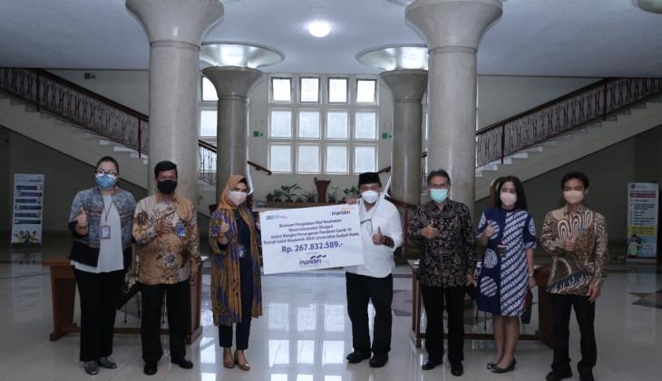 UGM Terima Bantuan Generator Oksigen dari Bank Mandiri