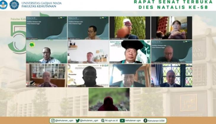 Dies ke-58 FKT UGM: Upaya Mengembalikan Kejayaan Hutan