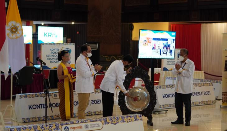 Ratusan Tim Robot Siap Berlaga di Kontes Robot Indonesia Tingkat Nasional 2021