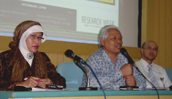 Rektor UGM Buka Kegiatan Research Week