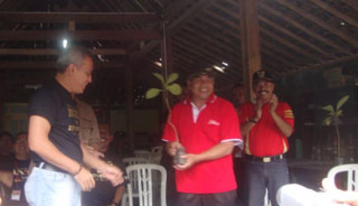 FH UGM Bakti Sosial Tanam Jati di Kaliurang, Sleman