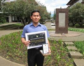 Mahasiswa UGM Raih Golden Award dalam
