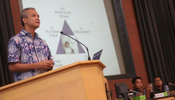 Ganjar Pranowo: Pemerintah Tidak Serius Melaksanakan Reformasi Birokrasi