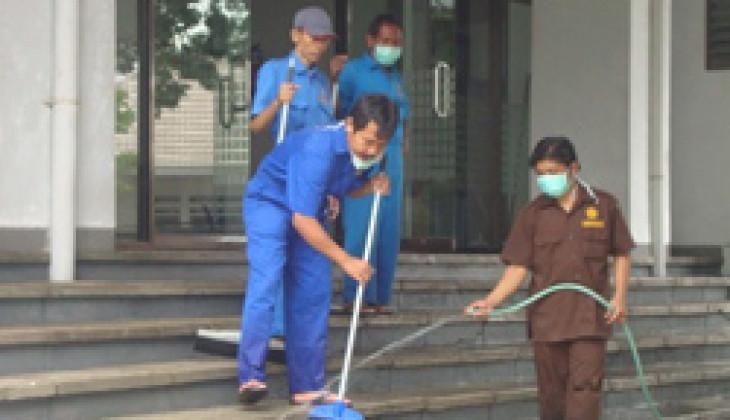 Abu Gunung Merapi Tak Ganggu Aktivitas Belajar-mengajar di UGM
