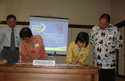 UGM Terima Bantuan Dana Penelitian IRN 2010