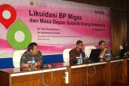 Ekonom Sesalkan Pembubaran BP Migas