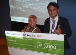 Mahasiswa UGM Raih Penghargaan dalam International Delta Conference, Belanda