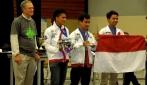 Tim Robot UGM Juara di Dua Kompetisi Internasional