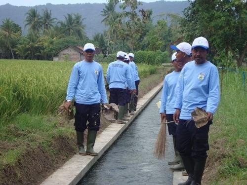 UGM Pelopori Gerakan Irigasi Bersih di Bantul